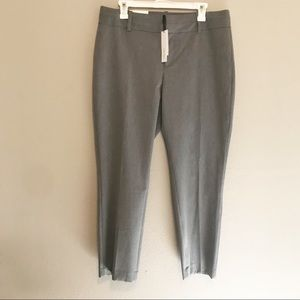 NWT Calvin Klein Gray Modern Ankle Dress Pants